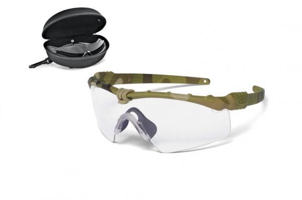 Schietbrillen - Oakley SI Ballistic M-Frame 3.0 Array Multicam 2 ...